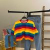 Rainbow Crop Tshirt